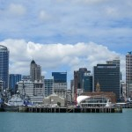 landscape of Auckland city centre