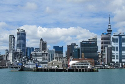 landscape of Auckland city centre