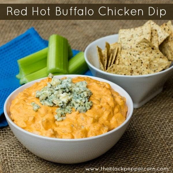 Red Hot Buffalo Chicken Dip text