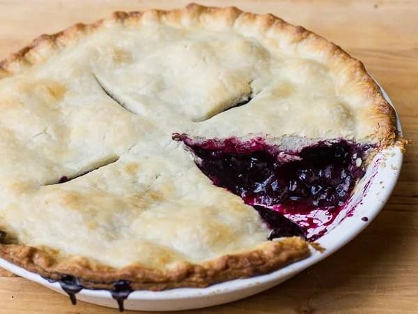 Classic Blueberry Pie-9