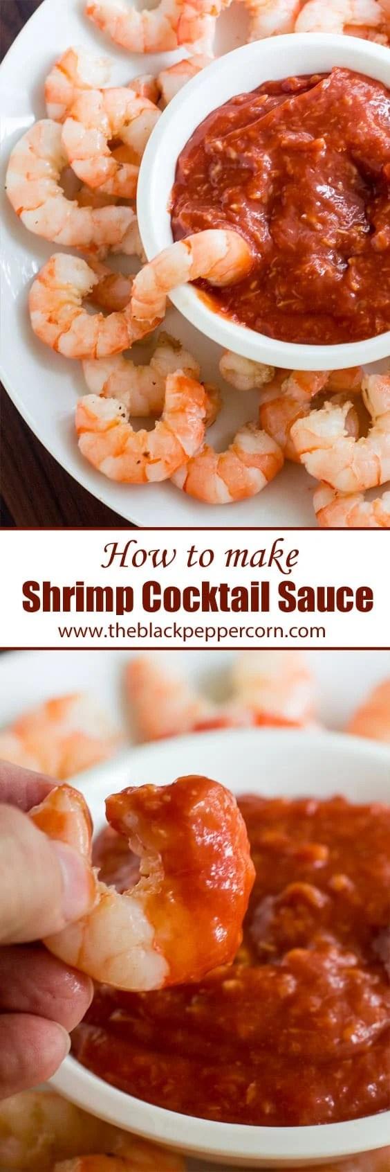 Shrimp Cocktail Sauce Recipe Seafood Easy Classic