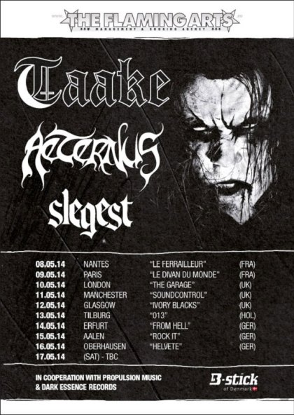 taake_aeternus_slegest_european_tour