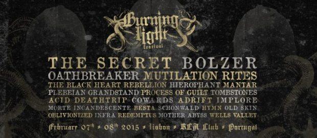 BURNING LIGHT FEST: band bill completed