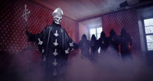 "GHOST have a new lyric video for ""He is"""
