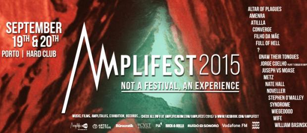 AMPLIFEST release festival timetables