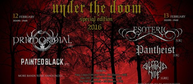 UNDER THE DOOM Fest announces new bands