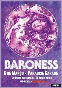 Baroness @ Paradise Garage