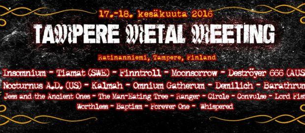 PREVIEW: Tampere Metal Meeting 2016