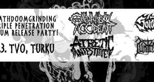 Preview: METALLIHELVETTI presents: Purtenance, Solothus, Cannibal Accident & Atretic Intestine