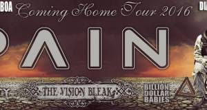 """PREVIEW: PAIN """"Coming Home Tour 2016"""" in Lisbon"""