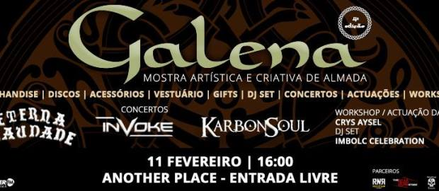 Report: Galena IV – KarbonSoul + Invoke + Eterna Saudade