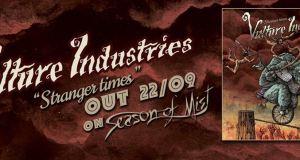 Vulture Industries premieres Strangers live video