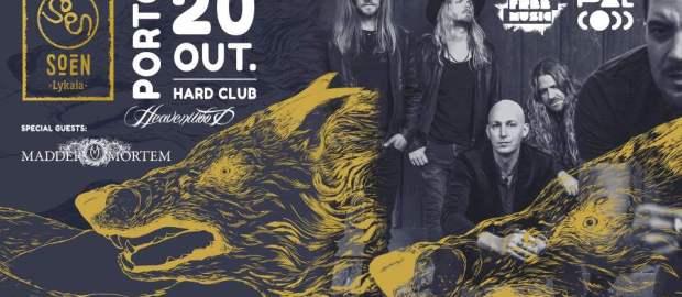 Preview: Soen @ Hard Club & RCA Club