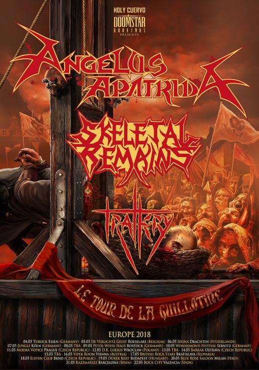 Angelus Apatrida Tour