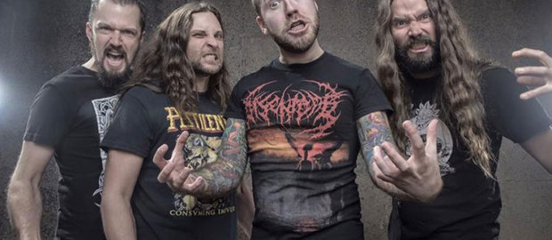 Revocation have entered studio