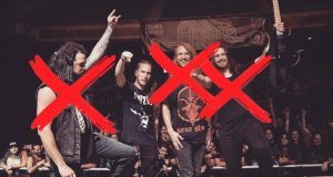 The entire band quits The Faceless. Keene alone.