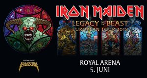 Preview: Iron Maiden @ Royal Arena, Copenhagen