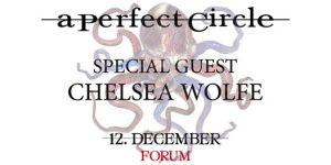 Preview: A Perfect Circle @ Forum, Copenhagen