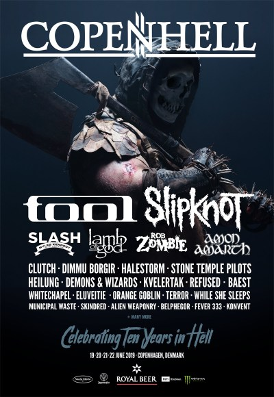 Preview: Copenhell 2019 (10th edition) - The Black Planet