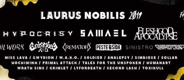 Laurus Nobilis 2019 confirms Samael as last headliner