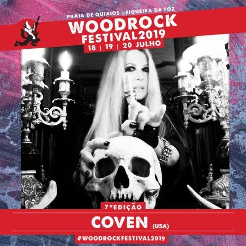 Coven confirmed as headliner of Woodrock Festival