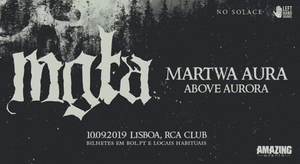 Preview: Mgła + Martwa Aura + Above Aurora @ RCA Club