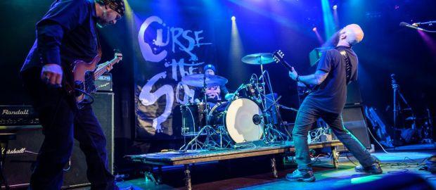 US doom metal trio CURSE THE SON return with new album Excruciation; stream debut single now!