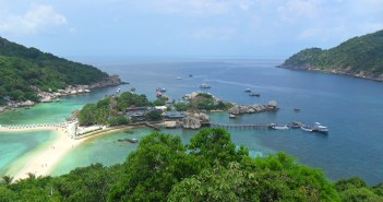Nangyuan Island Panoramic View