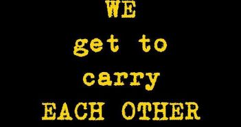 We Get to Carry EACH OTHER - U2