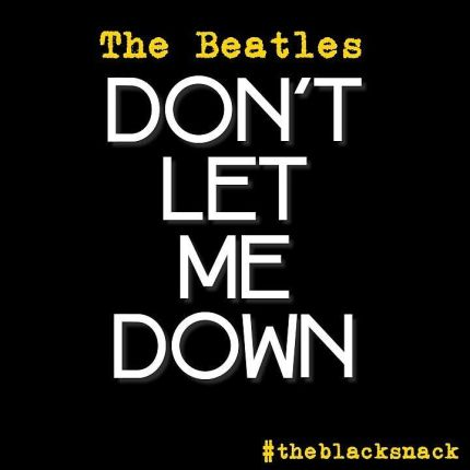 dont let me down citazione the beatles