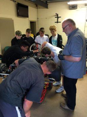 Dave Hull & John Howard from NatSKA show how to prep a kart