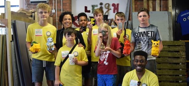 Kickstarting Young Digital Entrepreneurs