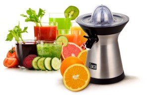 Epica Powerful Stainless Steel Whisper-quiet Citrus Juicer
