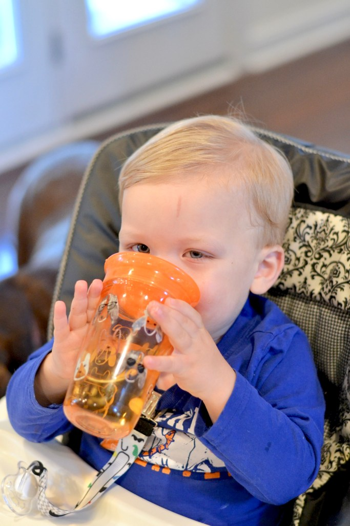 Independent Toddler Feeding with Nuby