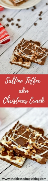saltine toffee aka Christmas crack