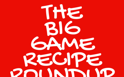 The Big Game Recipe Roundup