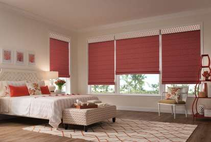 Envision Roman Shades Lunel