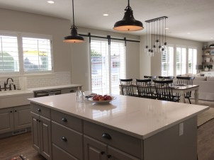 shutter kitchen bright
