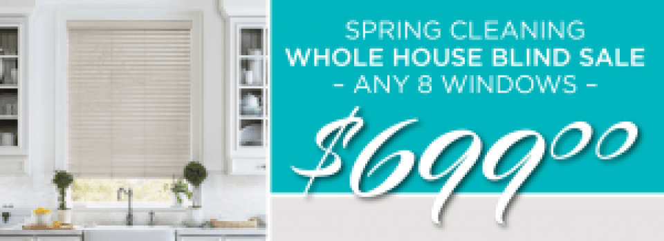 Whole House Blind Sale: $699 for up to 8 windows