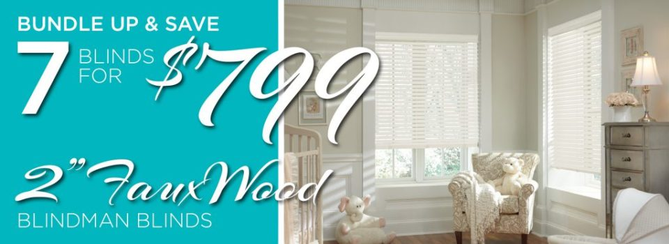 Bundle Up and Save Blinds Sale