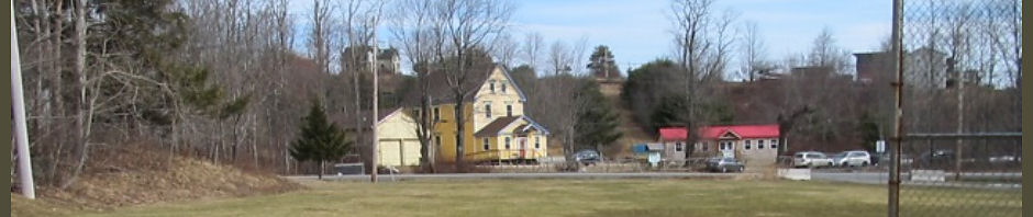 View of Waldorf School across the road