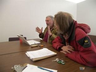 Board meeting: David, Lloyd