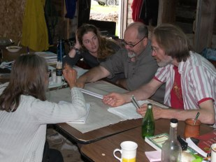 Working on a permaculture plan