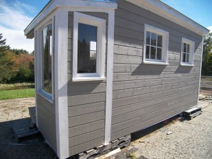 Tiny Studio with siding