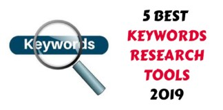 5 Best keywords research tool