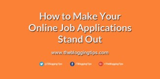 How to Make Your Online Job Applications Stand Out