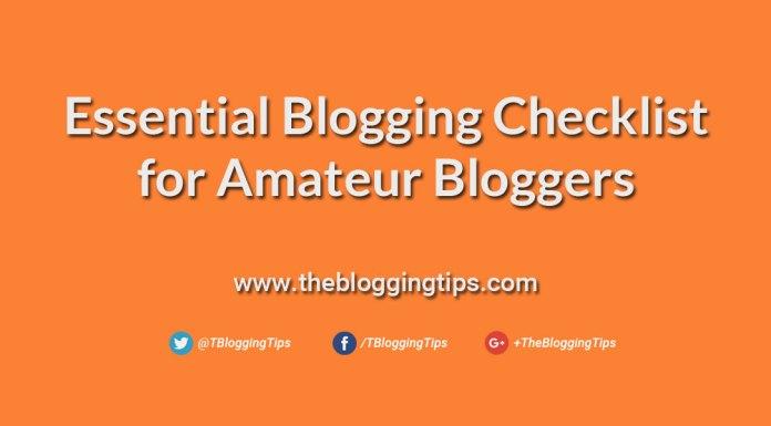 Essential-Blogging-Checklist-for-Amateur-Bloggers