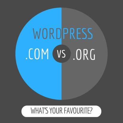WordPress.com vs WordPress.org- What's your favourite?