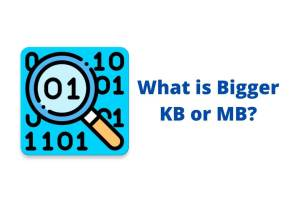 what is bigger kb or mb