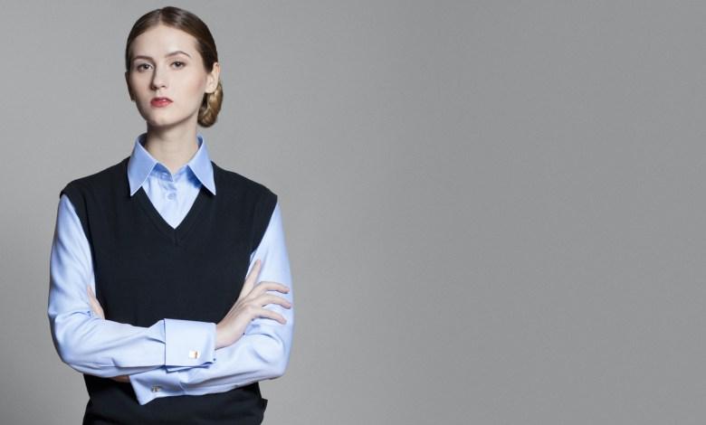 Women's blue shirt